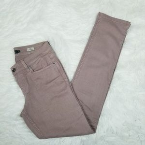 Level 99 Dusty Pink Lily Skinny Straight Jeans 29